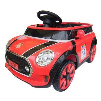 Rctoystory รถแบตเตอรี่ รถเด็กนั่ง รถเก๋งมินิ รีโมท (สีแดง)