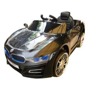 Rctoystory รถเด็กนั่ง รถแบตเตอรี่ BMW I8 2 แบต 2 มอเตอร์