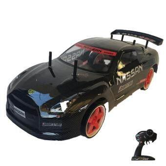 Rctoystory รถบังคับ รีโมท รถเก๋ง 1/10 เทอร์โบ2.4 (สีดำ)