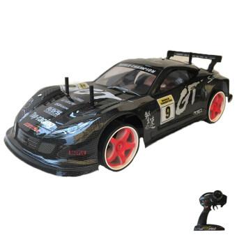 Rctoystory รถบังคับ รีโมทย์ รถเก๋ง 1/10 เทอร์โบ 2.4(สีดำ)