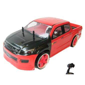Rctoystory รถบังคับ รีโมทย์ รถกะบะ 1/10 เทอร์โบ2.4 พร้อมเล่น (สีแดง/ดำ)