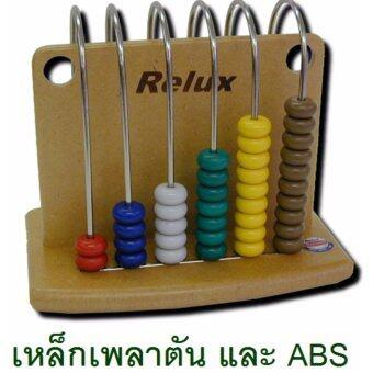 RELUX ของเล่น ลูกคิดข้ามรั้ว 6 หลัก (MDF-06)