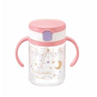 Richell แก้วหลอดดูดกันสำลักสำหรับเด็ก แก้วกันสำลักสำหรับเด็ก ถ้วยหลอดดูดกันสำลัก