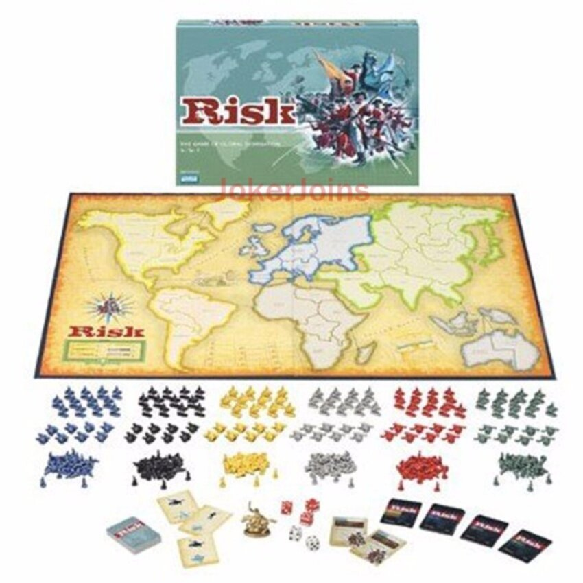 RISK Board Game The Game of Global Domination English Edition for2~6 Players for Christmas New Year Party - intl image