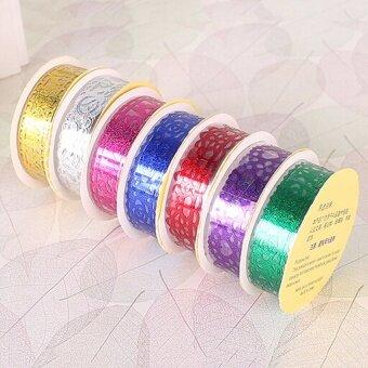 Romantic Lace Roll DIY Washi Decorative Sticky Ribbon Tape Self Adhesive Gold - intl