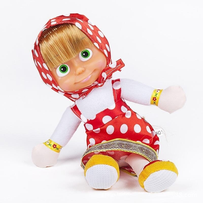 Rorychen Toys Winter Models Will Speak and Sing Marsha Pure Plush Toys (L) - intl