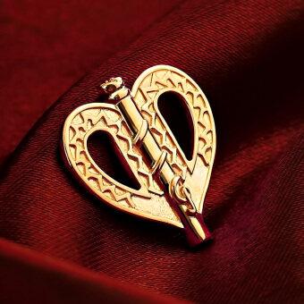 Rozen Maiden การ์ตูนฤดูใบไม้ผลิสีแดงจริงเงินสร้อยคอจี้