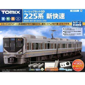 รถไฟจำลอง TOMIX N-Scale - 90171 Starter Set SD Series E225 Shin-kaisoku