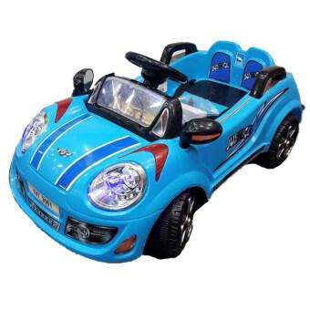 รถบังคับวิทยุ รถแข่งของเล่น มินิจัสตินเด็กนั่ง (สีฟ้า)