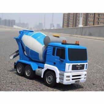 รถบังคับวิทยุ รถบังคับไฟฟ้า Double Eagle Cement Mixer Truck 6 CH รถโม่ปูนบังคับวิทยุ สเกล 1:20