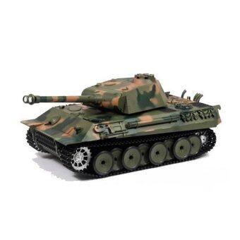 รถบังคับวิทยุ รถบังคับไฟฟ้า รถถังบังคับวิทยุ German Panther 3819 Scale 1:16