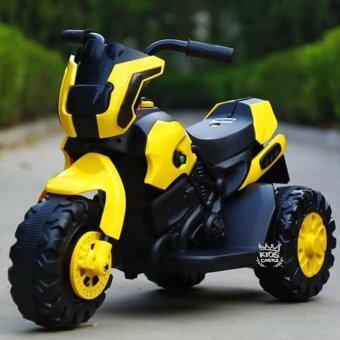 รถมอเตอร์ไซด์บิ๊กไบท์แบตเตอรี่ สีเหลือง