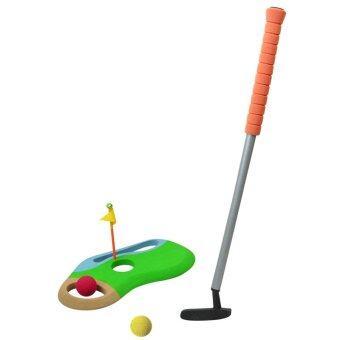 SAFSOF ชุดไม้กอล์ฟเด็กเล่น รุ่น CGS-01(B)-Z (ด้ามจับสีส้ม)