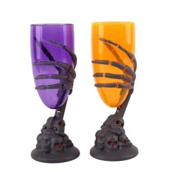 Scary LED Cup SKull Claw Skeleton Night Light Party Prop ForHalloween - intl