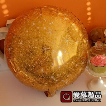 ทองสีทอง Series งานแต่งงานภาพตกแต่งฟอยล์บอลลูน