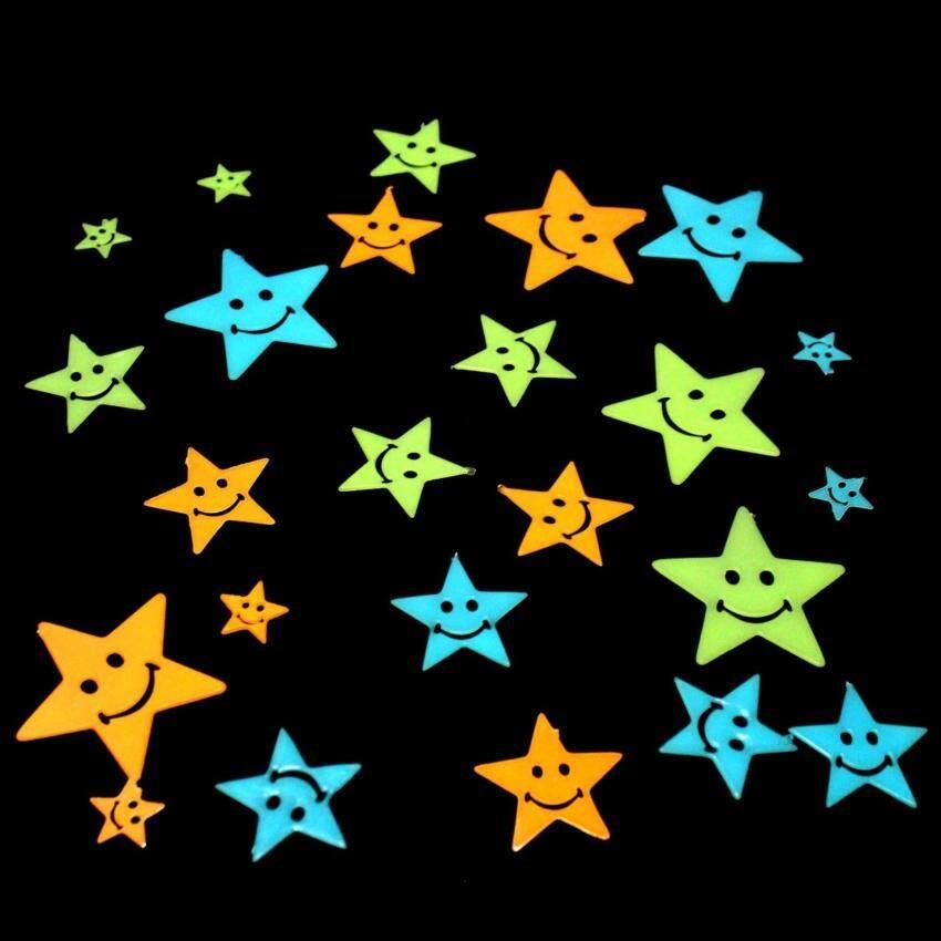 ดาวเรืองแสงสำหรับเด็ก Set48ชิ้น