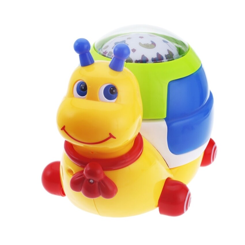 SH Baby Musical Snail Projector Music Player Sleeping Educational Toy - intl