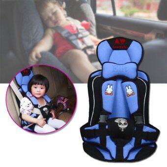 Sinlin คาร์ซีท ที่นั่งในรถสำหรับเด็ก อายุ 9 เดือน - 6 ปี รุ่น CH10 สีชมพู/สีฟ้า