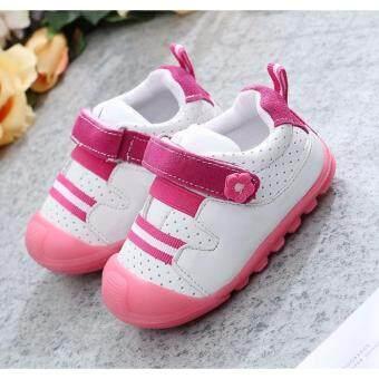 ((เบา และ นิ่มมาก))รองเท้าเด็กหัดเดินพื้นยางกันลื่น(Size 12-14 cm.)