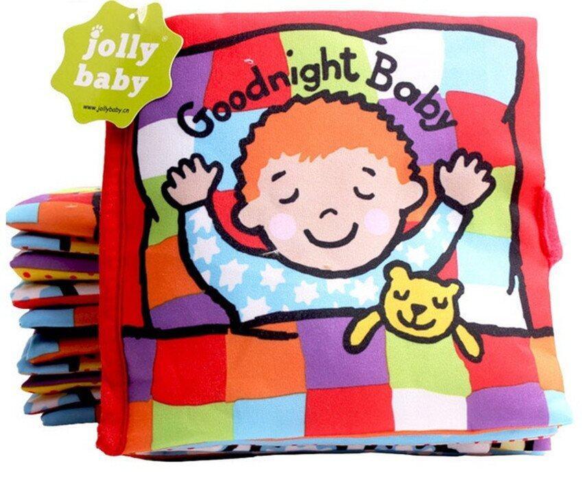 smartbabyandkid หนังสือผ้า Good Night Baby image