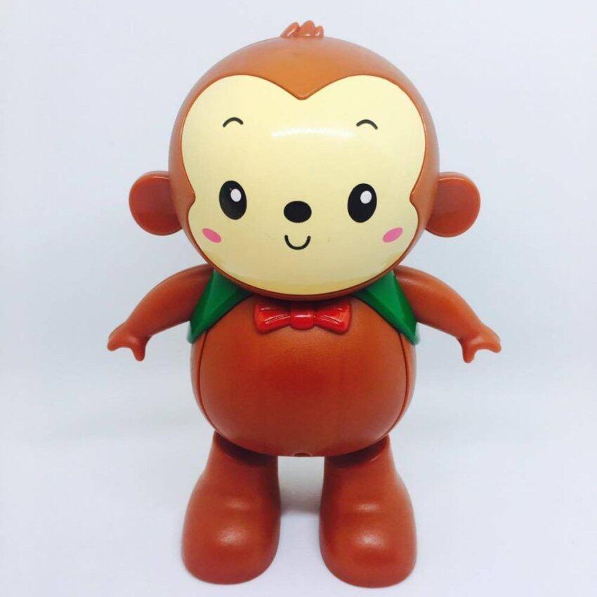 Somjai Kidstoy ของเล่น ลิงเต้นระบำ เสียง ไฟ