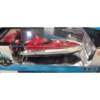 เรือสปีดโบ๊ต Speed Boat รุ่น 2 มอเตอร์ รีโมทบังคับวิทยุ เปลี่ยนคลื่นน้ำได้ 3 แบบ สวยมาก (Model 003)