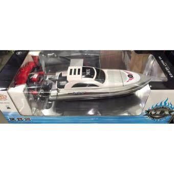 เรือสปีดโบ๊ต Speed Boat รุ่น 2 มอเตอร์ รีโมทบังคับวิทยุ เปลี่ยนคลื่นน้ำได้ 3 แบบ สวยมาก (Model 007)