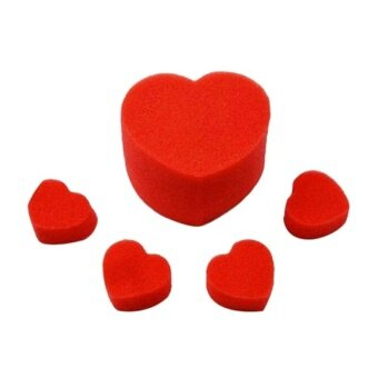 Sponge Magic Tool Heart Love Ball Magic Trick Jumbo Sponge Party Magic Trick Set - intl