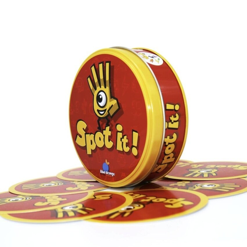 Spot It Board Game English Family Party Toy with Metal Box - intl