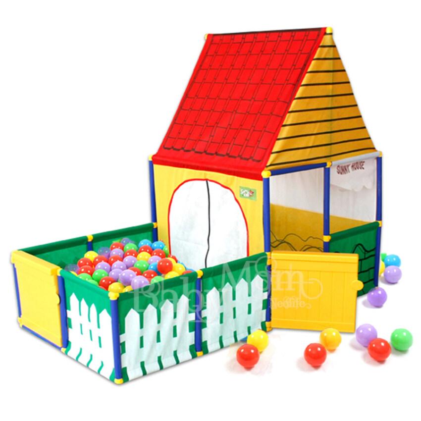 ขาย Sunny BabyMom Neolife-Sunny House เต็นท์บ้านบอล บ้านบอล พร้อมคอก