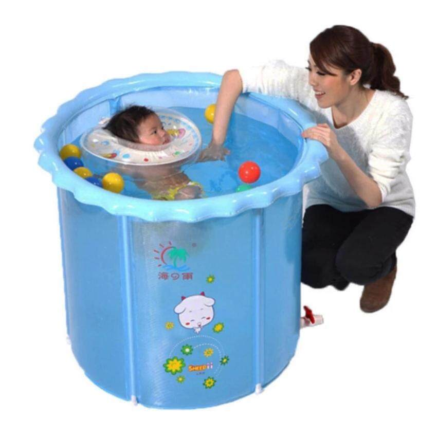 Swimming pools สระว่ายน้ำเด็ก สระว่ายน้ำเป่าลม สำหรับเด็ก ใส่น้ำได้ตามความสูงของเด็ก