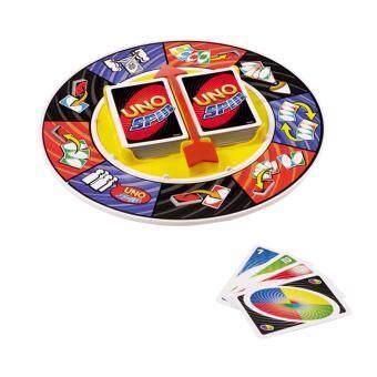 เกมส์การ์ด UNO SPIN รุ่น 6132 (กล่องสีแดง)