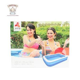Thaiken ��������������������������������������������������������������� 262x175x50cm(���������������) Giant RectangularInflatable Pool JiLong (������������������������������) ������������������������������������������������������������ (image 3)