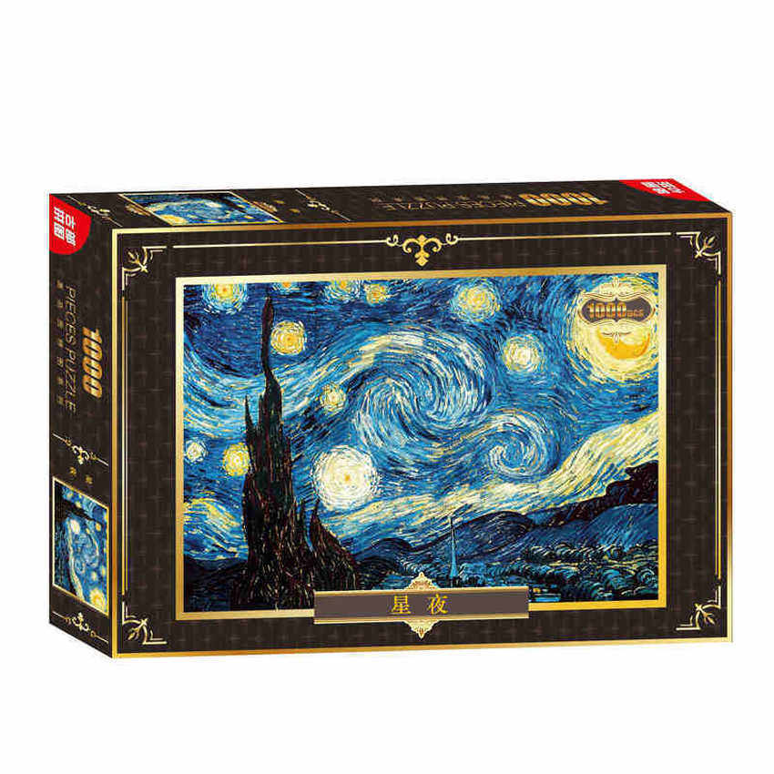 The Starry Night 1000Pc Jigsaw Puzzle - intl