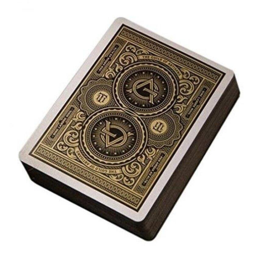 theory11 Artisan Playing Cards. Black - intl
