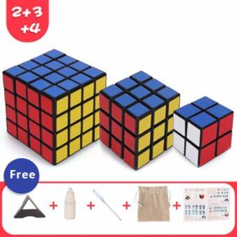 Harga Third-order cube Fourth order cube Second order cube Rubik's cubeProfessional Rubik's cube Cube toys - Intl