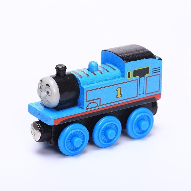 Thomas & Friends Mighty Mac Magnetic Wooden Model Train Minis Classic Toy - intl image