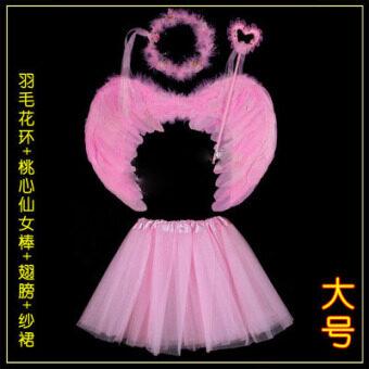 Tianshichibang ขนนกสีขาวคริสมาสต์ปีใหม่ไม้กายสิทธิ์