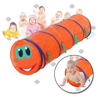 TML อุโมงค์ตัวหนอน สำหรับเด็ก กันน้ำ Foldable Children Play Animal Tunnel Tent Kids