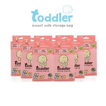 ถุงเก็บน้ำนมแม่ ท๊อตเล่อร์ฟแฟมีลี่ Toddler Breast Milk Storage Bag (ขนาด 4oz./336 ใบ) 12 กล่อง 7สี 7ลาย
