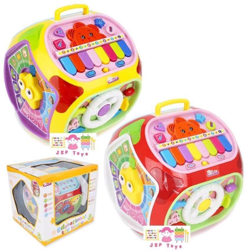 Todds & Kids Toys ของเล่นเสริมพัฒนาการ กล่องกิจกรรมใหญ่ 7 ด้าน (รุ่นน้องเป่าเปา)