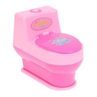 Toilet Mini Simulation Kitchen Toys Kids Children Pretend Play House Toy - intl