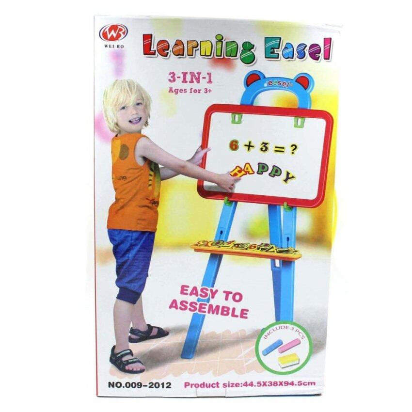 Toon World Drawing easel with magnet 3 in 1