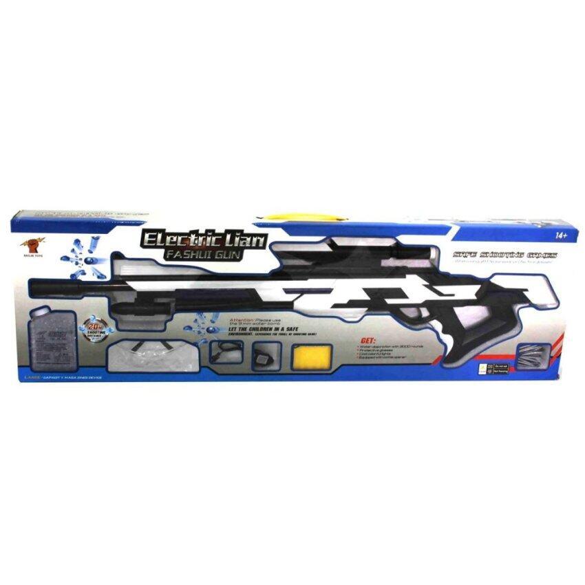 Toon World ปืนยิงคริสตัล+ถ่านชาร์จ Electric Gun Battery Powered