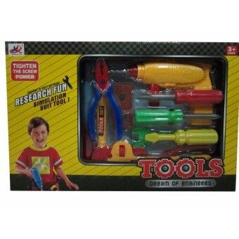 TOP ONE SHOP ของเล่นเด็ก เครื่องมือช่างกล่อง (972)