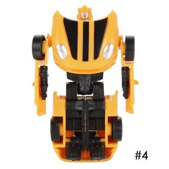 Toprank Car Model Mini Cars Figures Toy Transformation Robots Plastic Action Figures Toys Children Gift - intl