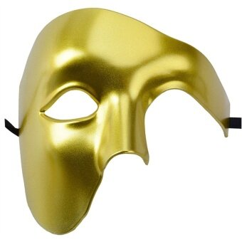 Toys Games Wigs Masks Men'S Party Opera Phantom Style Props Halloween Masquerade Mask(Golden) - intl