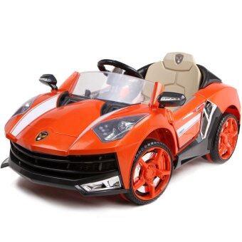 Toyzoner รถแบตเตอรี่เด็กนั่ง แลมโบกินี่ LN6168 - สีส้ม