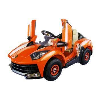 Toyzoner รถแบตเตอรี่เด็กนั่ง แลมโบกินี่ Lamborghini LN6168ABS ล้อยาง MP3 USB - Orange
