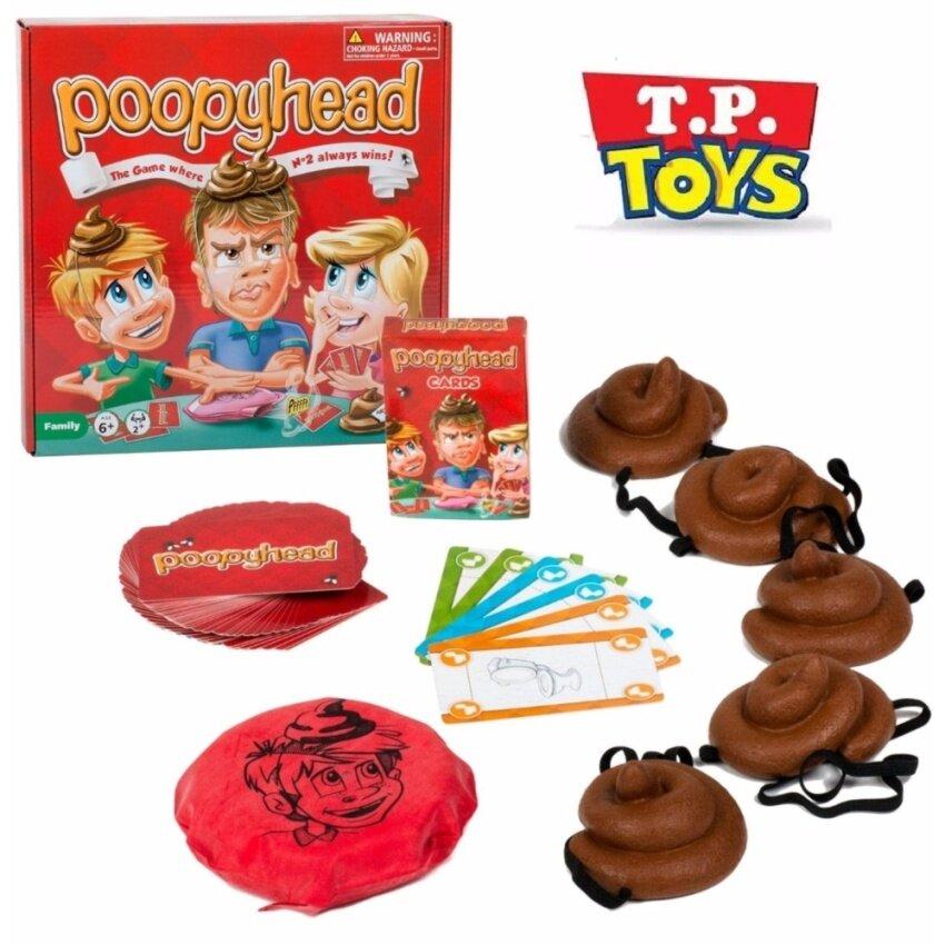 T.P. TOYS POOPYHEAD เกมส์หัว POOPY สุดฮิตในต่างประเทศเล่นได้ทั้งครอบครัว